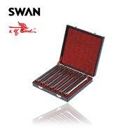 Лебедь SW24H 7T High End 24 Отверстия 7 Ключи гармоники комплект гармоника производительности в подарочной коробке профессиональный духовой музыка