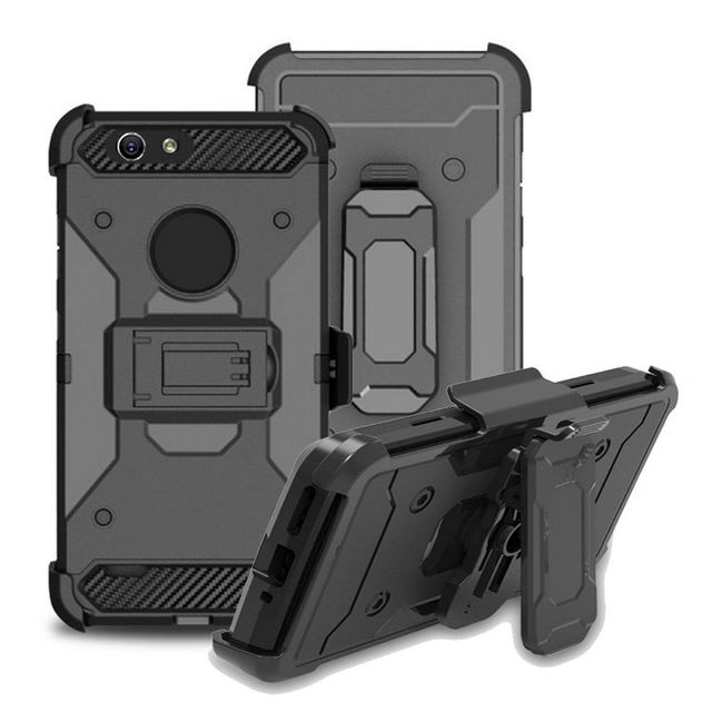 Belt Clip Case For ZTE Z982 Z Max Pro 2 Sequoia Armor Hybrid Case Heavy Duty DropProof Kickstand PC TPU Denfender Cover Case
