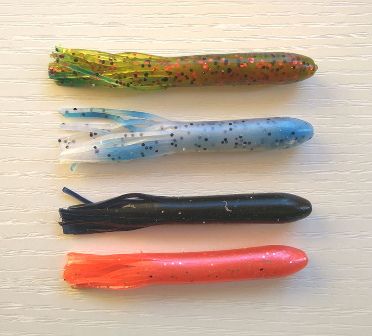20pcs 9cm/5g Soft tube lure Soft fishing lure Soft tube lure mixed colors sea bass, blackfish, striped bass ect.free shipping ...