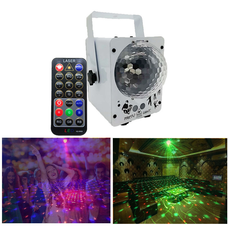 Disco Laser Light RGB Projector Party Lights DJ Lighting Effect for Sale LED for Home Wedding