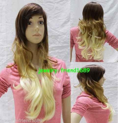 Горячая жаропрочных Партия волос>>>> Новый Жаропрочных Косплей Длинные Темно