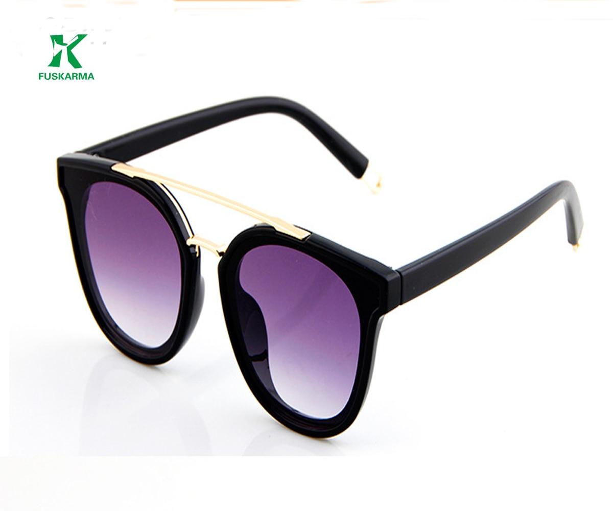 FUSKARMA Fashion UV400 Otroška sončna očala Simpatična otroška - Oblačilni dodatki