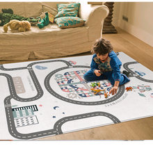 Folding Kids Rug Developing Mat Thick Double Side Baby Play Mat Toys For Children Mat Playmat Puzzles Carpets Room Decoration(China)