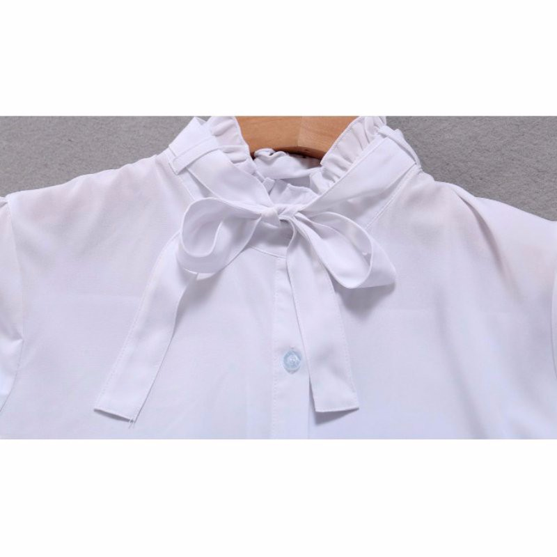 HTB1gsr NpXXXXXgXpXXq6xXFXXXw - FREE SHIPPING White Blouse Shirt Women Work Wear Long Sleeve JKP092