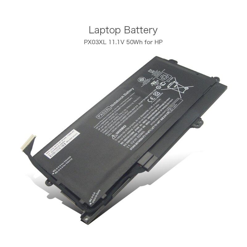 цена на 11.1V 50Wh Laptop Rechargeable Battery for HP Envy TouchSmart 14-k001tx 14-k002tx PX03XL 714762-1C1 TPN-C109 TPN-C110 TPN-C111