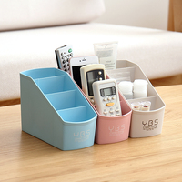 Large Capacity Multifunction Make Up Cosmetic Storage Box Container Bag Dresser Desktop Cosmetic Makeup Remote Control