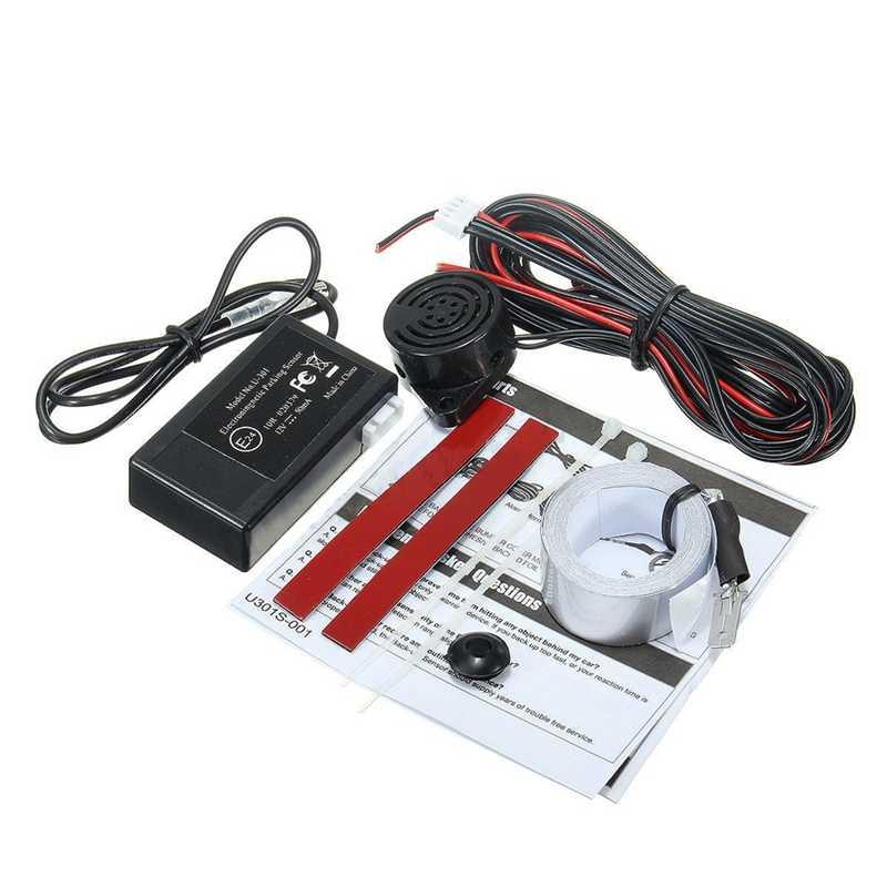 Automóvel Indução Eletromagnética Revertendo Reversa Sensor de Estacionamento Invertendo Radar Anti-Colisão