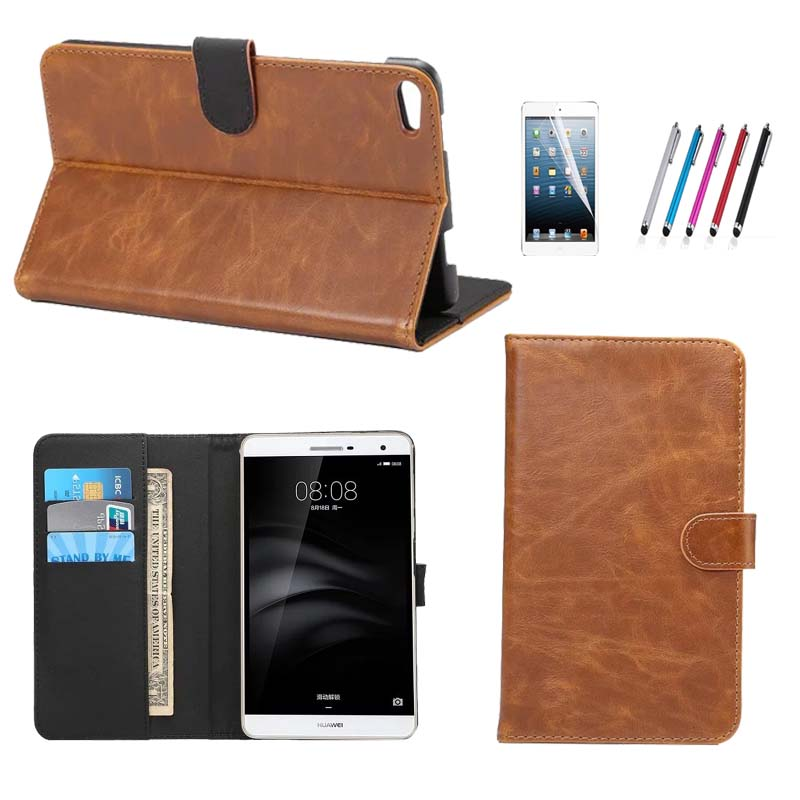 For Huawei Mediapad T2 7 0 Pro Tablet Case Retro Wallet Leather Case With Stand Holder