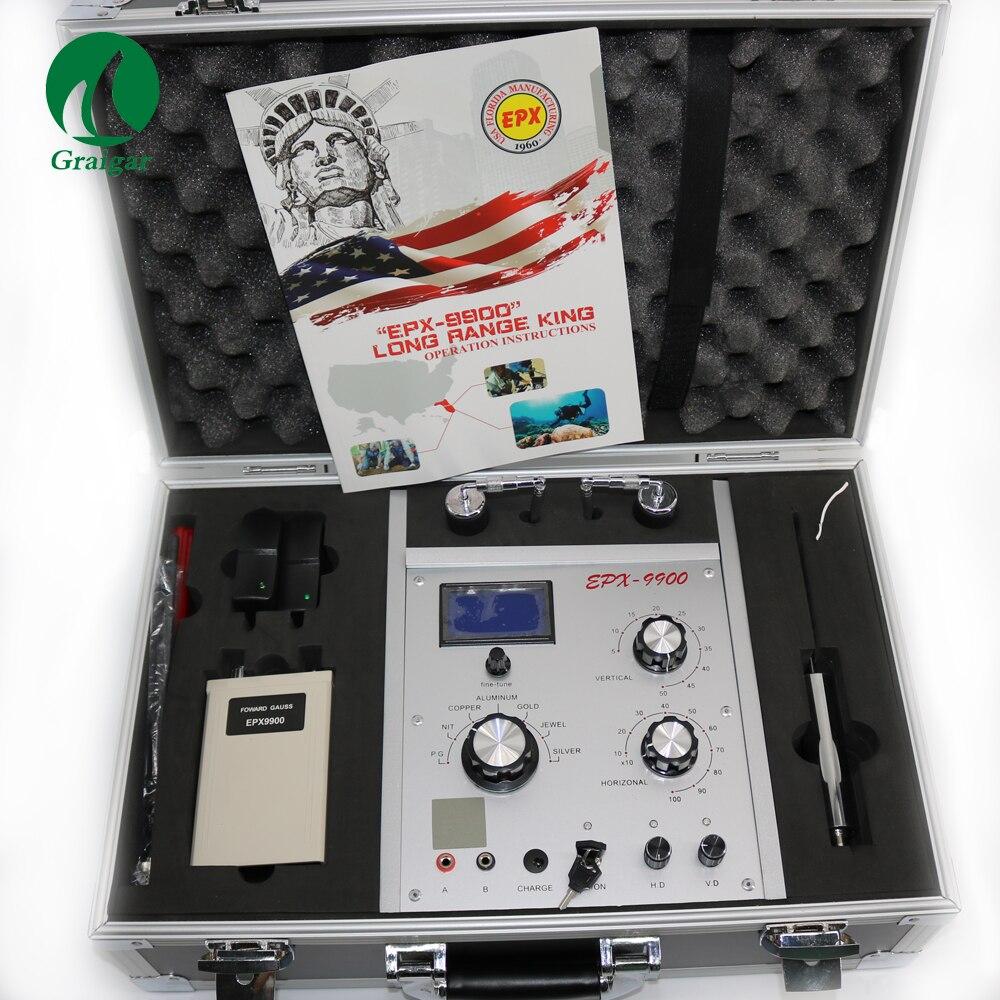 EPX9900 Métal et Trésor Détecteur Long Rang pour Or Argent Cuivre PG D'étain En Aluminium et Jewel EPX-9900 EPX 9900 Or finder