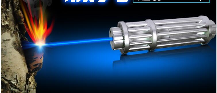 HOT! haute Puissance 5000000 m Bleu Pointeurs Laser 450nm Lazer lampe de Poche Allumette/Brûler cigares légers/bougie/noir chasse - 6