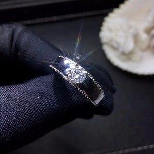 Image 5 - Moissanite 0.5ct קשיות 9.3, יהלומי תחליפים, יכול להיבדק על ידי מכשירים. תכשיטים פופולריים
