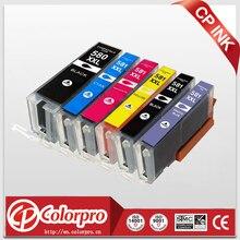 CP 6PK תואם PGI 580 CLI 581 דיו מחסנית עבור Canon Pixma TR7550 TR8550 TS6150 TS6151 TS8150 TS8151 TS8152 TS9150 TS9155