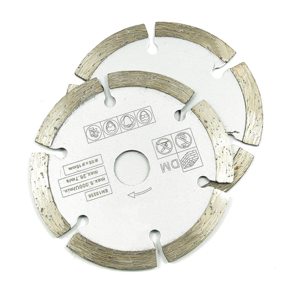 Diameter 85 Mm Diamond Dry Chip Grey Saw Blade For Rotary Tools & Power Tools & Woodworking & Metal & Plastic Cutting