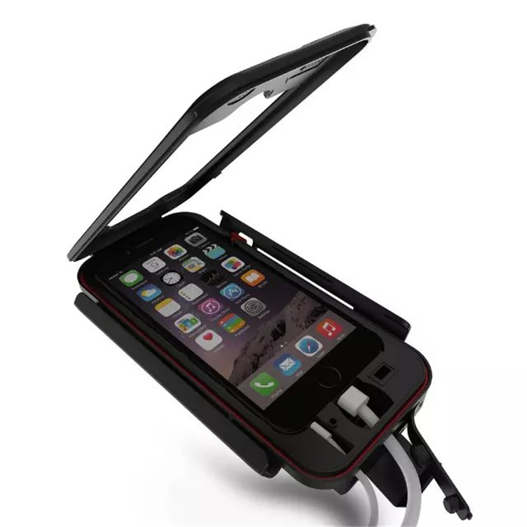 cheaper 8f286 ec37f US $15.68 |Luxury Waterproof Universal Motorcycle Bike Bicycle Handlebar  Holder Stand Armor Outdoor Phone Case For iPhone 7 Drop Shipping-in Fitted  ...