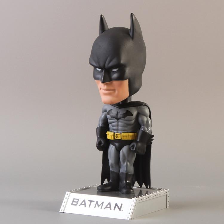 DC Universe Batman Wacky Wobbler Bobble Head PVC Action Figure Collection Toy Doll  funko pop marvel loki 36 bobble head wacky wobbler pvc action figure collection toy doll 12cm fkg120