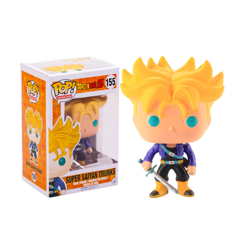 Funko pop Official Amine Dragon Ball Vinyl Action Figure Collectible Model Toy 21