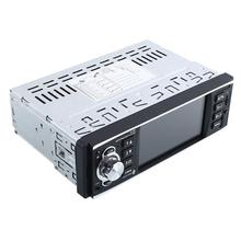 "12/24 V Auto Del Coche MP5 4.1 ""Retrovisor HD FM Estéreo USB Audio Video"