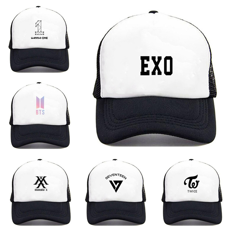 Men's Hats 2017 New Brand New Design Fashion Colorful Flower Print Snapback Baseball Cap Words Kpop Exo Women And Adjustable Hip Hop Man High Safety