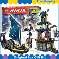 1069 шт. Оригинальная Подарочная Коробка Устанавливает Бела 10401 Ниндзя Город Stiix Строительные Игрушки Рождество Совместимо с Lego