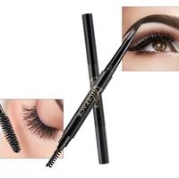9Pcs Lady Makeup Kits Mascara Eyeliner Eyebrow Pencil Lip Liner Liquid Lipstick Cosmetic Set