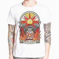 Asiatique taille imprimer dark ames Place le soleil jeu T-shirt à manches courtes o-cou T-shirt pour hommes et femmes HCP4496