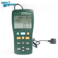 TES-132 Handheld Medidor De Energia Solar Tester 400-1Knm Gama 2000 W/m2 & 634Btu/(ft2 * h) Registrador de dados do Cartão SD 2G USB