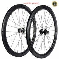 Суперкоманды 50 мм углеродного тормозного диска Колёса Road Велоспорт велосипед Колёса et 25 мм ширина углерода велокросс Колеса дорожные велос