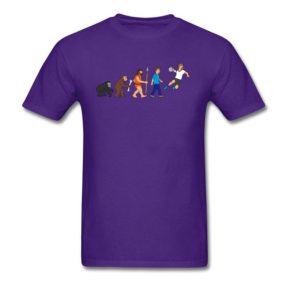 Evolution handball comic_purple