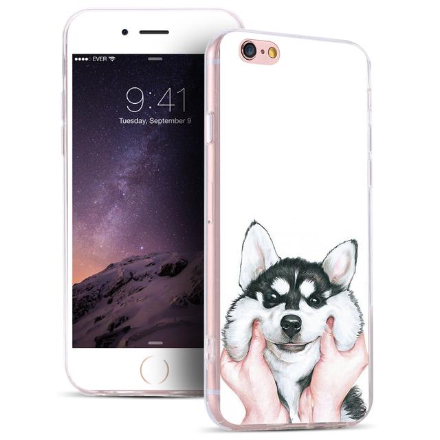 Cute Husky Case For Samsung & iPhone