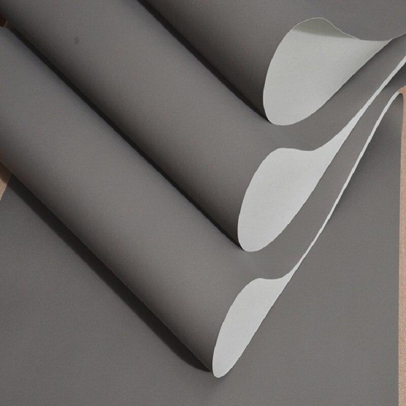 Gris couleur décor à la maison rayé papier peint moderne vinyle imperméable papier peint papel de parede tapete décoration de chambre 53x1000 cm