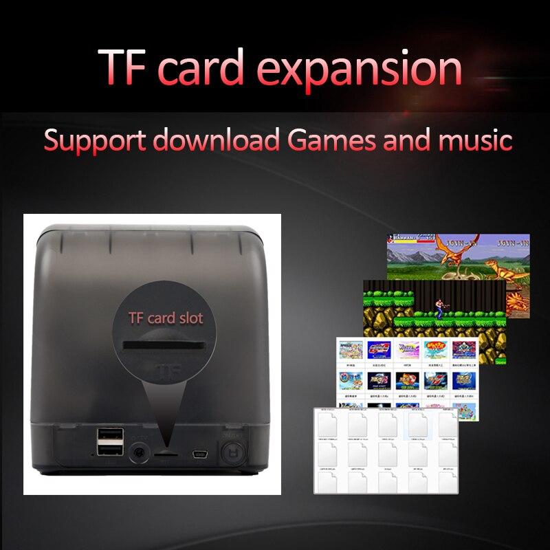 Pow kiddy x18 android 7.0 5.5 Polegada tela lcd jogo console 2g ram 16g rom clássico jogador de vídeo para psp dc gba md s fc arcad - 6