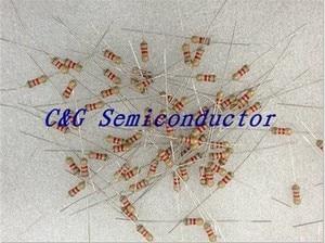 1000 PCS 1/6 1/8 WATT 10 OHM 1/8 W 10R 0.125 W 5% Resistores de Filme de carbono (1.5R 3.3R 4.7R 6.8R