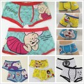 High quality cuecas underwear men Boxer 100% cotton lovely cartoon men's Boxer / men underwear lovely underwear