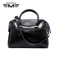 цены MIRONPAN 2018 Elegant Women's Handbag Genuine Leather Female Doctor Shopping Shoulder Bags Female Crossbody Business Handbag
