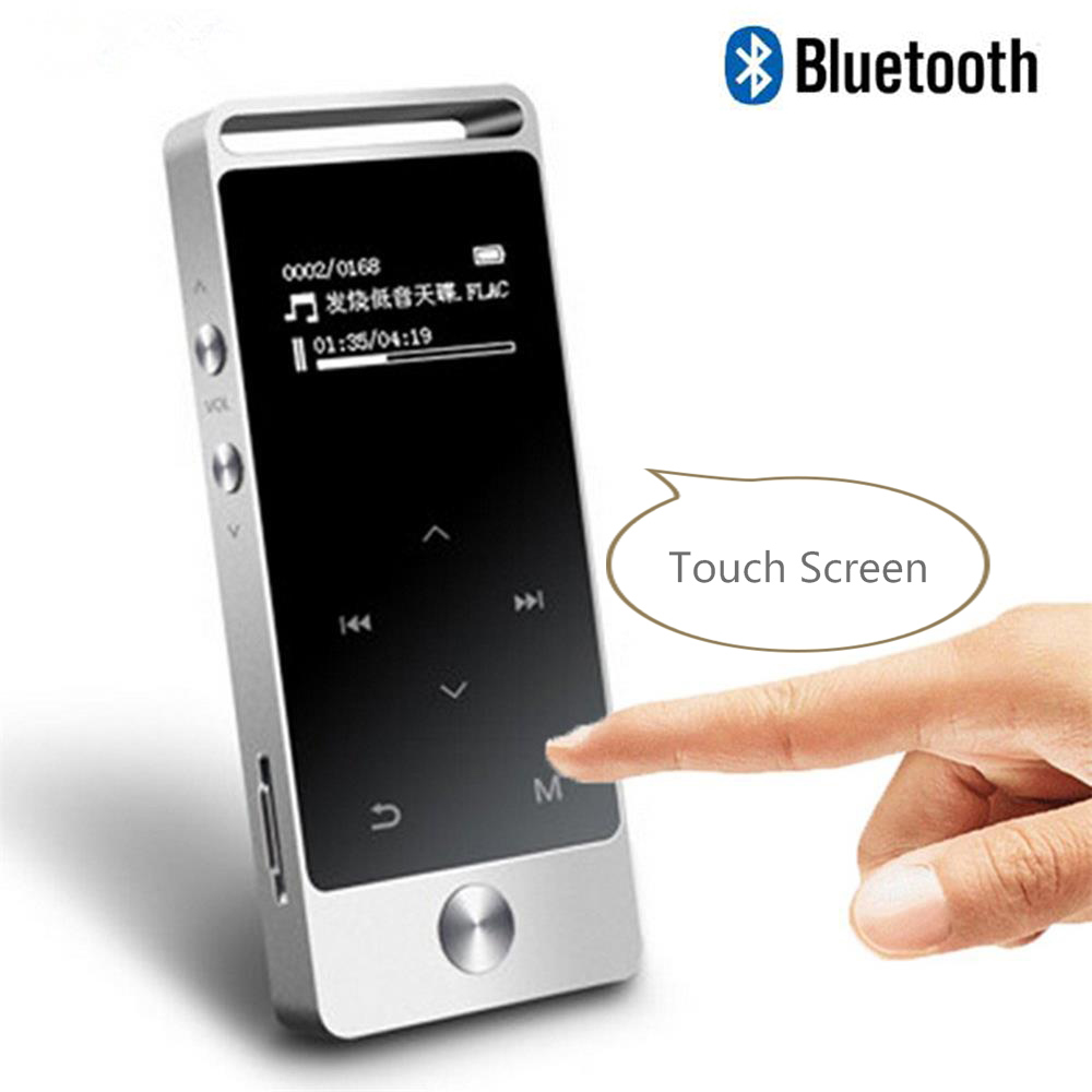 Newest Original BENJIE S5B Touch Screen Bluetooth MP3 Player 8GB High Sound Quality Entry-level Lossless Music Player with FM