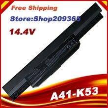 14,4 V Аккумуляторный блок для ноутбука A32-K53 A41-K53 для ASUS K53 K53E X54C X53S X53 K53S X53E