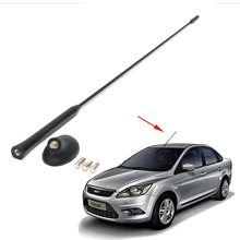 54cm AM/FM Car Antenna Mast For FORD FOCUS XS8Z18919AA Roof Base XS8Z-18919-AA & 98BZ-18A886-AA