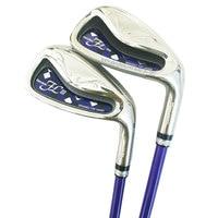 New Women Maruman Golf Clubs Maruman FL III Golf Irons 5 9PA S Irons Set Graphite Golf shaft L Clubs shaft Cooyute Free shipping