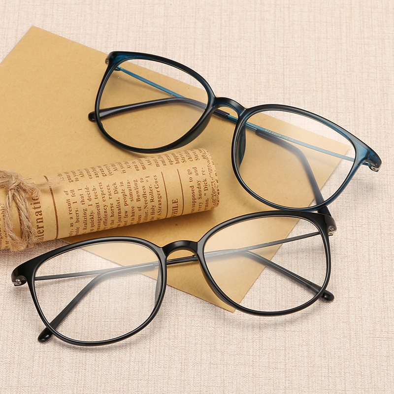 6fa43f72f06 TR90 Super Light Elegant Women And Men s Glasses Frames Casual Clear Fashion  Eyeglasses Frame Myopia Prescription Optical Frames-in Eyewear Frames from  ...