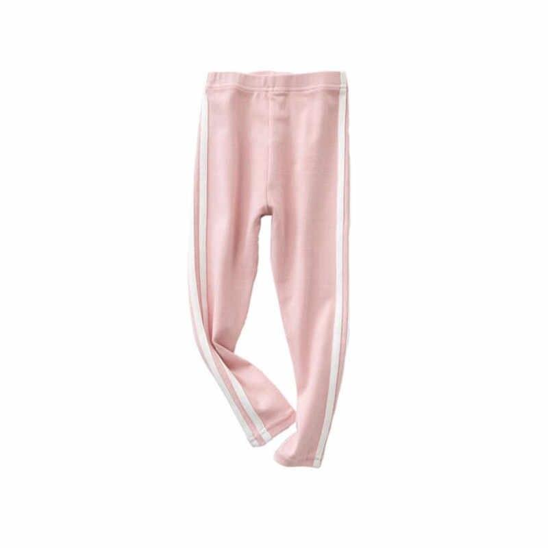 ฤดูใบไม้ร่วงเด็กกางเกงขายาวผ้าฝ้าย 2018 สาวใหม่กางเกง Slim กางเกงเด็กกางเกงเสื้อผ้าเด็กทารก Sweatpants