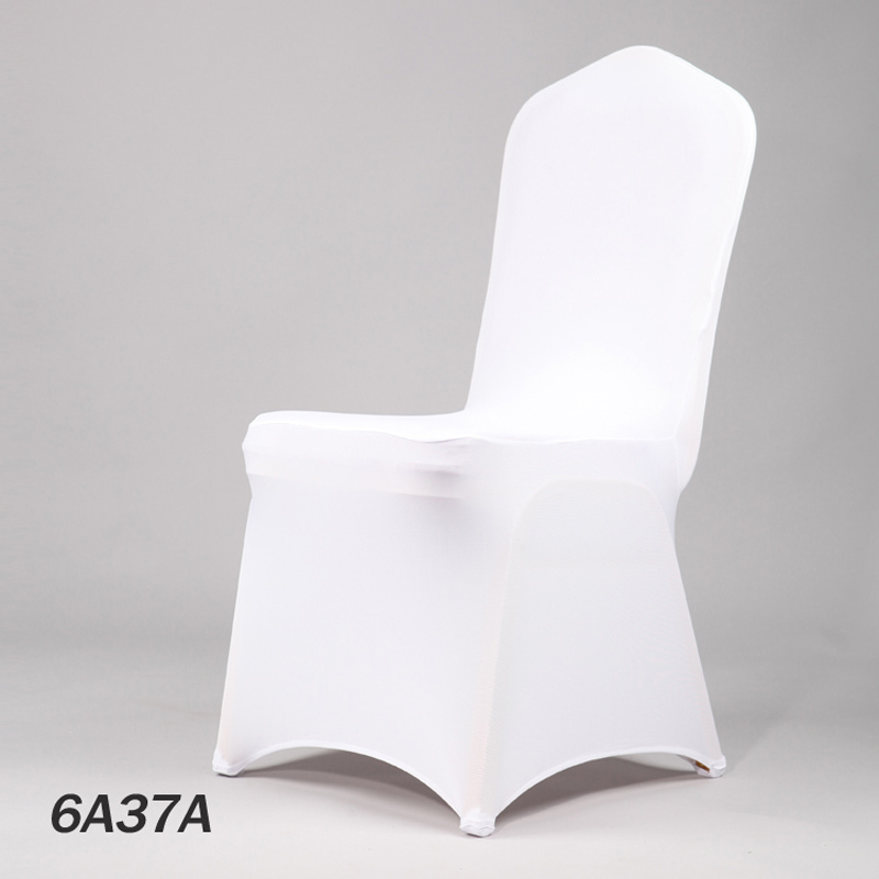 white wedding spandex chair cover lycra stretch christmas chair covers