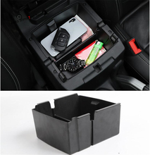 Yimaautotrims Center Armrest Box Secondary Storage Central Console Phone Case Holders Kit Fit For Jeep Wrangler JL 2018 2019