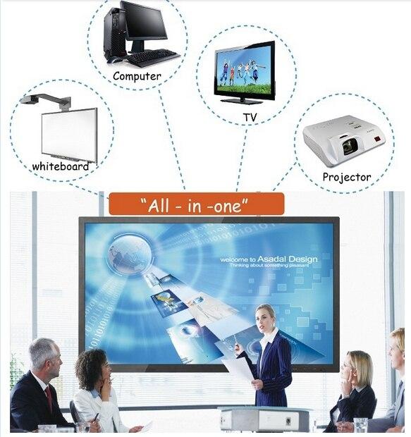 22 32 42 46 55 65 70 82 pouces nouveau écran tactile Windows 8 tout en un pc tv pour le bureau d'éducation scolaire - 2