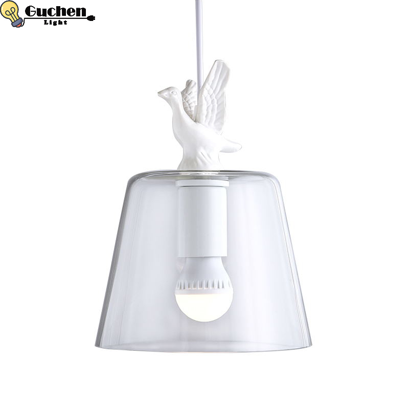 LED Pendant Glass lamp Lampshade creative Suspension Luminaire foyer Cafe shop home Nordic Decor modern pendant ceiling lampsLED Pendant Glass lamp Lampshade creative Suspension Luminaire foyer Cafe shop home Nordic Decor modern pendant ceiling lamps