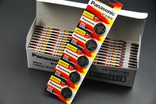 10pcs/lot Panasonic CR3032 CR 3032 DL3032 ECR3032 3V Lithium Car Key Remote Control Electric Alarm Cell Button Coin Battery
