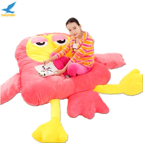 Fancytrader Giant Plush Soft Stuffed Owl Sofa Bed Beanba Sleeping Bed Mattress 2 Colors, Nice Gift FT90901 (9)