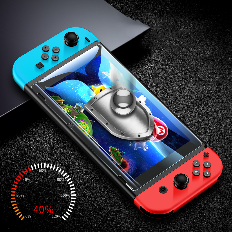 Suntaiho 9H Protective Film Tempered Glass For Nintend Switch Screen Protector Cover For Nintendo Switch NS HD Glass film