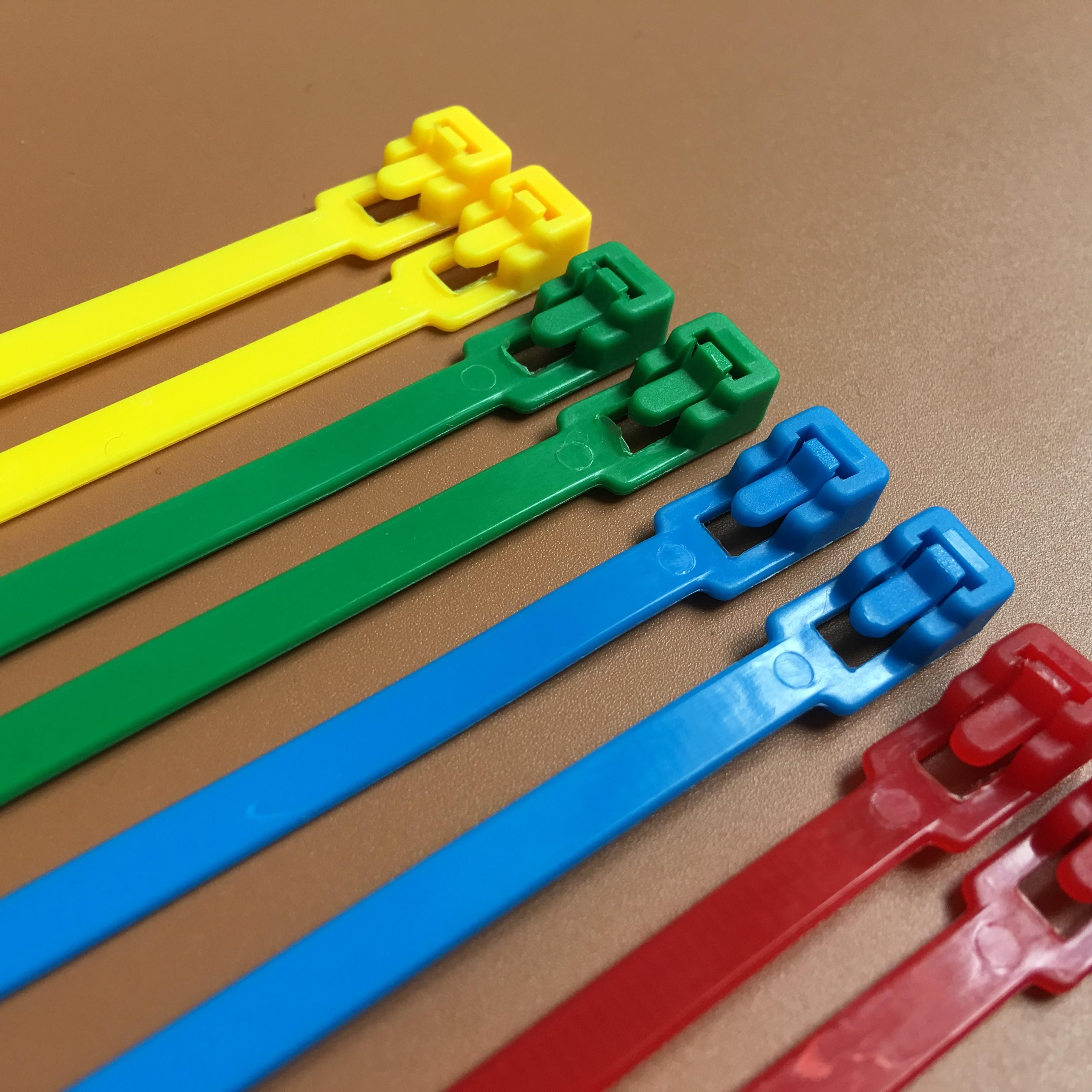 4.8x300mm Cable Ties Zip Tie Nylon Tie Wraps Organizer Black 100pcs