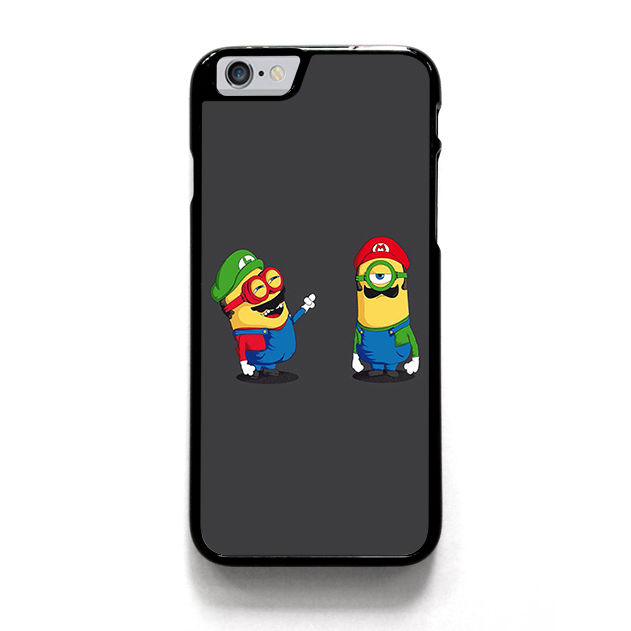 MARIO AND LUIGI MINIONS.jpg fashion cell phone case cover for iphone 4 4s 5 5s 5c SE 6 6s plus 7 7 plus &mm264