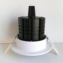 Free shipping 7W 10W COB LED Downlight AC85V-265V Cold/Warm White CE&ROHS 12W CREE COB LED Spotlight Ceiling